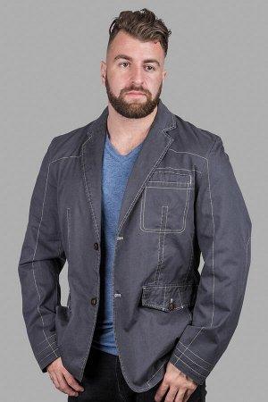 Пиджак 530 т.серый №13 ВAOF