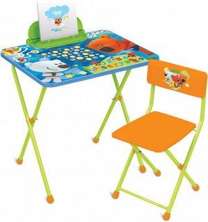 "Набор мебели ""Ми-Ми-Мишки"" с азбукой  (стол+стул)"