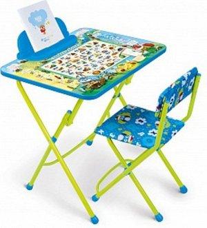 "Набор мебели ""Веселая азбука"" (стол,пенал,мягк. стул)"