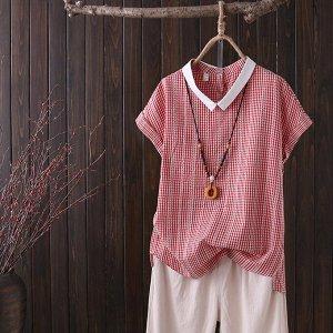 Отличная рубашечка с освежающим воротничком