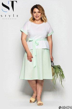 Костюм 49474 (блузка+юбка)