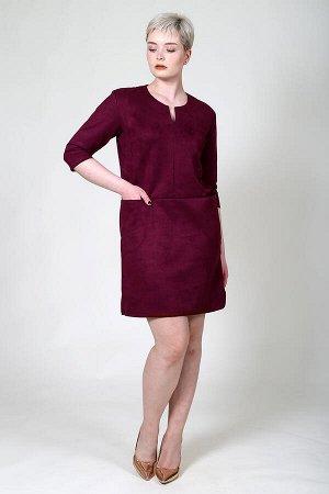 Платье Регина-Б (Бордо)