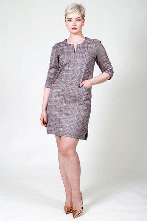 Женское платье Регина-К (Клетка)