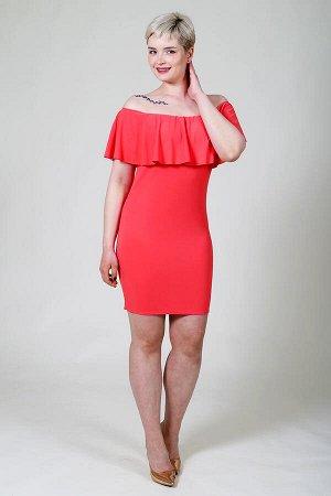 Платье П 21-К (Красный)