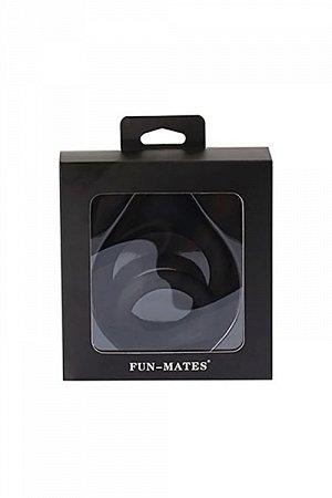Двойное эрекционное кольцо на пенис Levett Marcus, чёрное