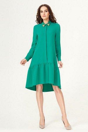 Платье Панда 424180 зеленый