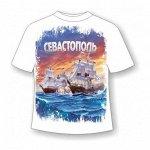 Подростковая футболка Севастополь сражение