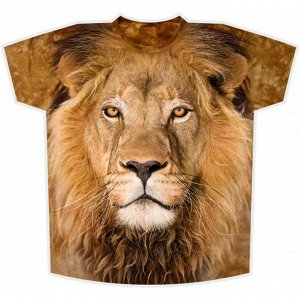 Мужская футболка Лев KP 144