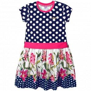 Платье Pink Цветы для девочки