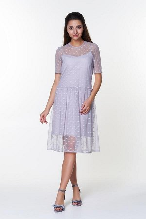 Платье Тутси №3 .Цвет:серый
