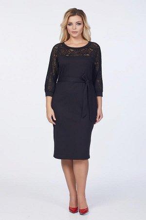 Платье Эва №1. Цвет:черный