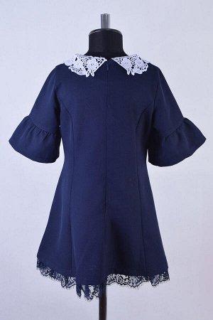 Платье миди на молнии из ткани барби
