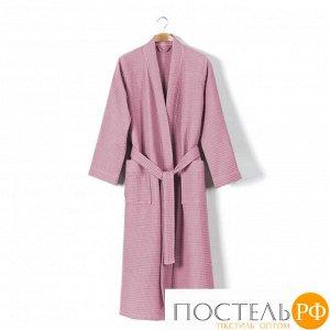 Халат вафельный розовый 310 гр/м2
