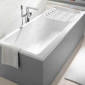 Полка на ванну, 69?30?6 см, цвет белый