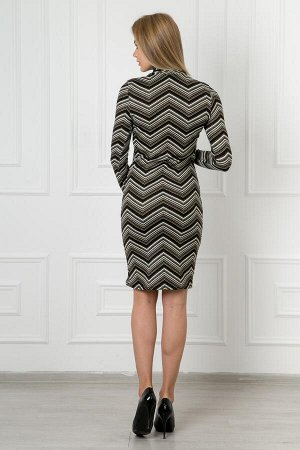 Платье линда полоса