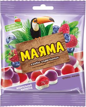 Маяма малина, черника