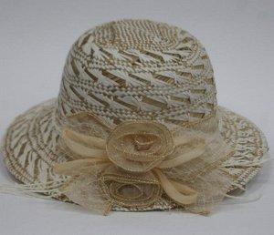 Летняя шляпа натуральная