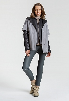 "Куртка ""Деми""  серый"