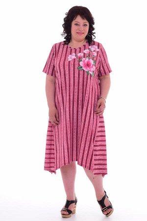 Платье женское 4-55а (розовый)