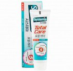 "Зубная паста комплексный уход ""Systema  total care"" со вкусом мяты, 120 г."