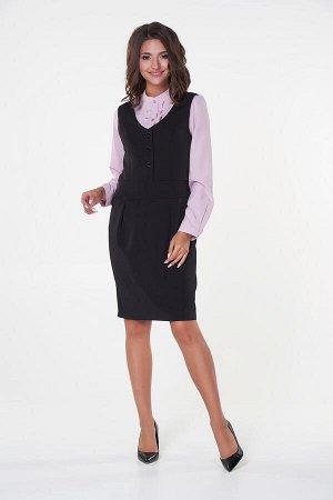 Платье-сарафан №1 .Цвет:черный