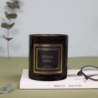 Аромасвечи VOLUSPA💕Волшебный аромат Вашего дома — APOTHECA. Парфюмированная свеча в подарочной коробке — Свечи и подсвечники
