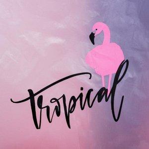 """Дождевик - пончо """"Tropical dream"""", универсальный размер, 150 х 150 см"""