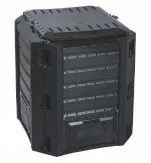 Компостер Prosperplast Compogreen 380 л черный (простая упаковка)