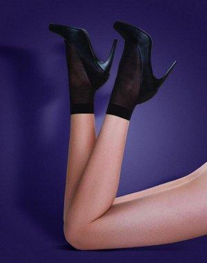 Носки жен. 2 пары Cristina 20D черный
