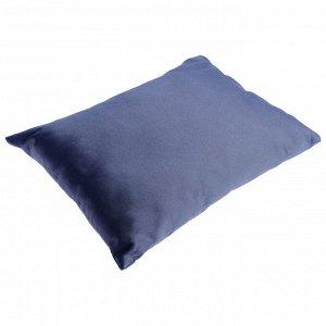 Сидушка-подушка мягкая, 40 х 23 х 13 см, цвет серый