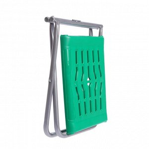 Стул складной ПСП4, 37 х 29,5 х 34 см, зелёный