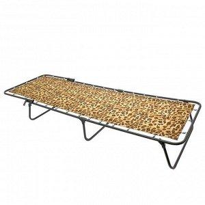 Кровать раскладная 190?65?26 см, до 80 кг, рисунок МИКС