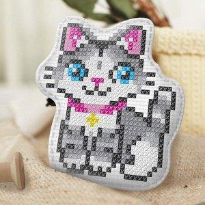 Вышивка крестиком, игрушка «Самый красивый котёнок». Набор для творчества