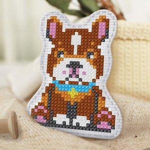 Вышивка крестиком, игрушка «Верный пёс». Набор для творчества