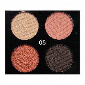 Тени O.TWO.O 4 Colours Eyeshadow №5 4x2.5 g