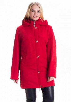 Женская куртка большие размеры 78 Код: 78 красный