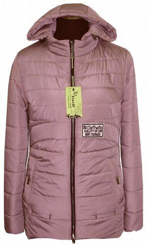 Молодёжная короткая куртка Код: 86 пудра
