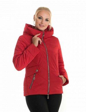 Молодёжная короткая куртка от производителя Liardi Код: 65 красный
