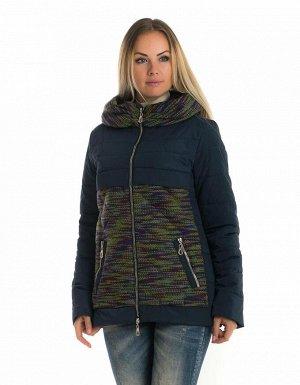 Женская короткая куртка от производителя Код: 89 синий