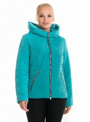 Короткая женская куртка Харьков Код: 65 бирюза