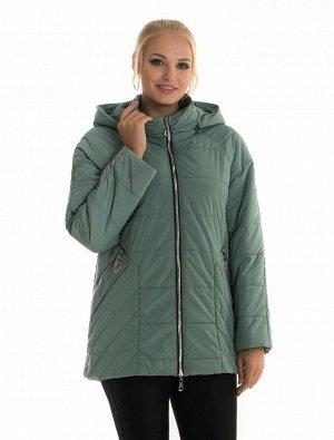 Женская куртка демисезонная 80 Код: 80 мята