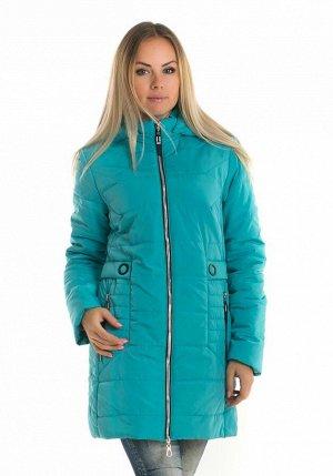 Демисезонная яркая куртка 91 Код: 91 бирюза