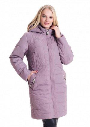 Женская куртка большие размеры Код: 3 пудра