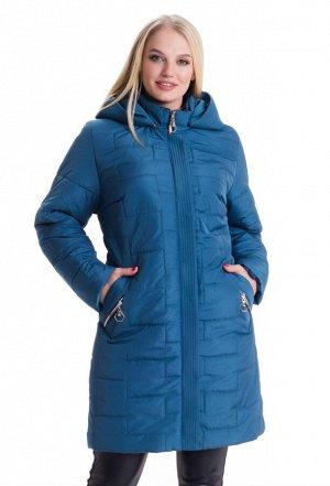 Куртка женская батал весна осень Код: 3 малахит