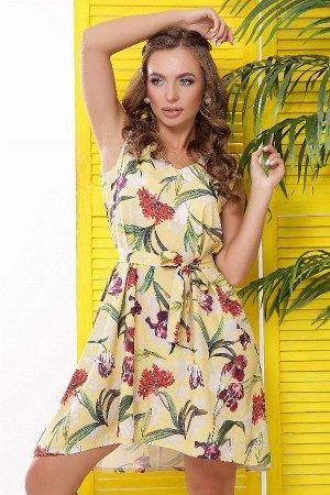 Платье 1833 желтый