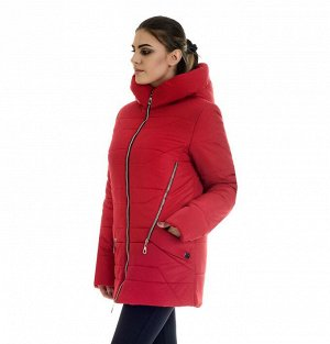 Куртка молодёжная зимняя Код: 41-1 красный