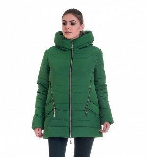 Куртка от производителя зимняя Код: 41-1 зелёный
