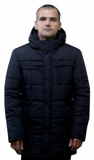 Мужская куртка больших размеров Код: 8 чёрный