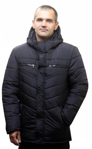 Мужская зимняя куртка Код: 9 черный
