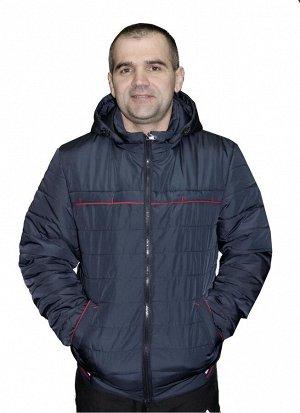 Демисезонная мужская куртка Код: 02 синий
